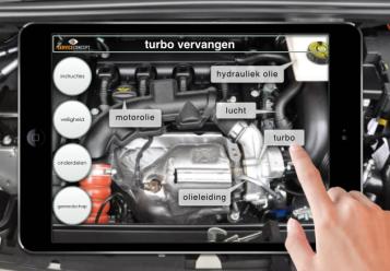 TSC toepassinge AR automotive - vervangen turbo